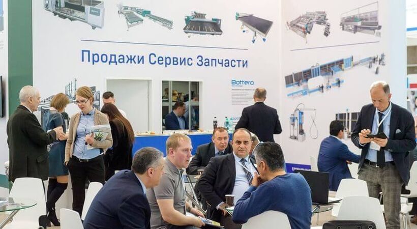 Rusian glass trade show Mir Stekla has been postponed for a year