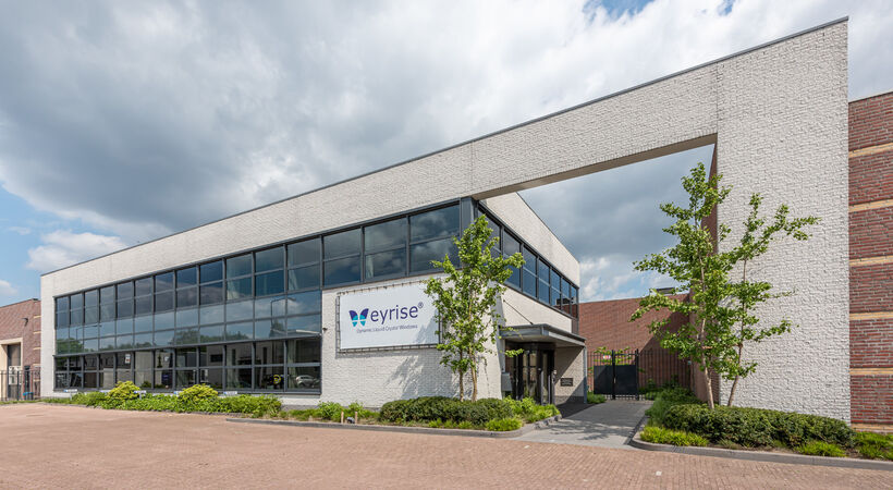 The eyrise facility in Veldhoven, The Netherlands