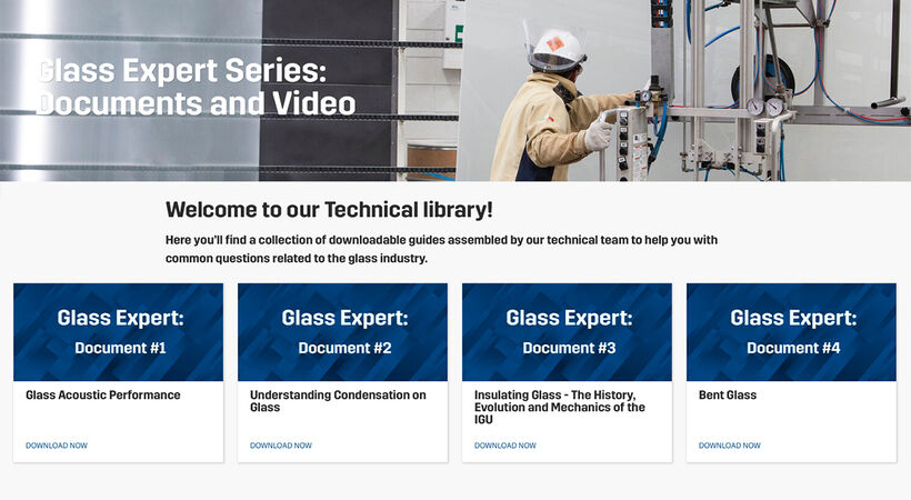 Guardian Glass's online library includes technical papers and videos.