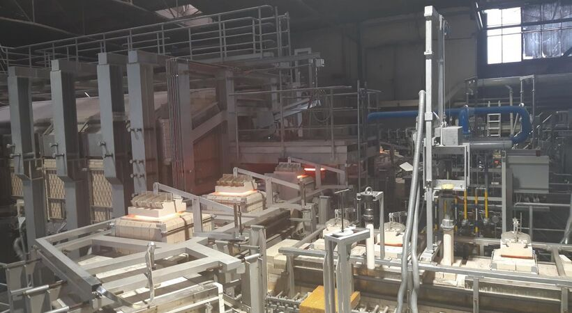 Tableware manufacturer Ritzenhoff installed a Horn furnace at its Marsberg, Germany site.
