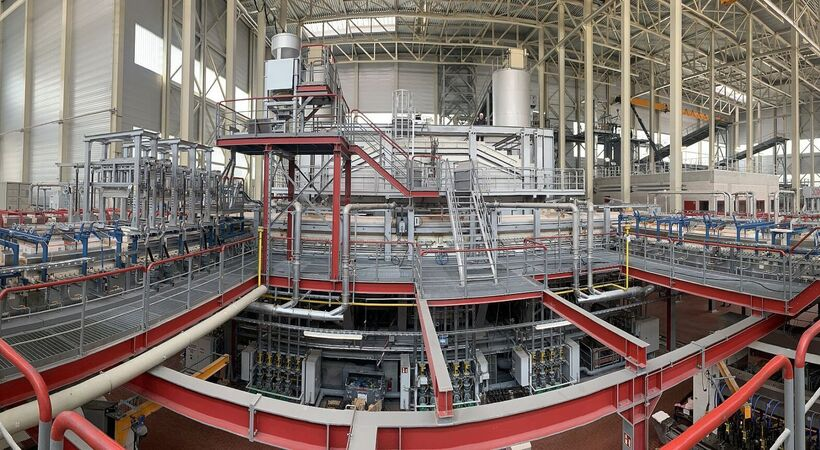 Sorg commissioned the first glass melting system at Wiegand-Glas' Schleusingen site, Germany