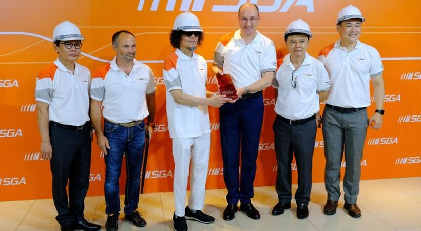 Siam Glass inaugurates Sorg furnace and second production line at Ayutthaya