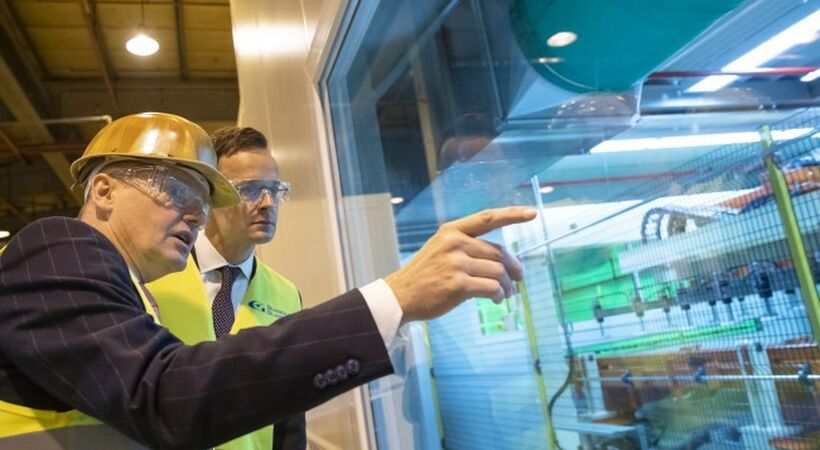 Guardian Glass inaugurates production line at Hungarian plant