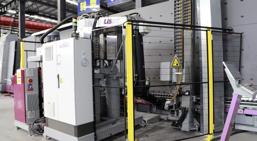 Chinese manufacturer purchases LiSEC glass line