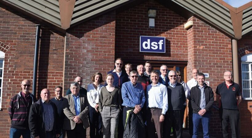 SGT melting committee visits DSF Refractories