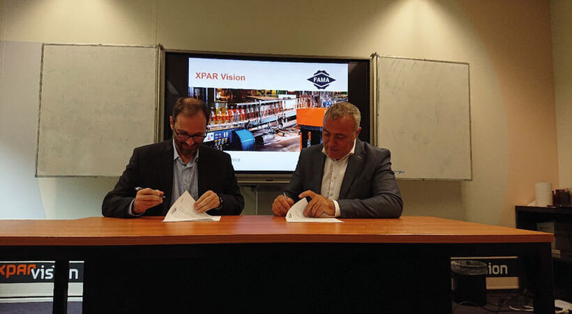 Xpar Vision and FAMA sign supply agreement