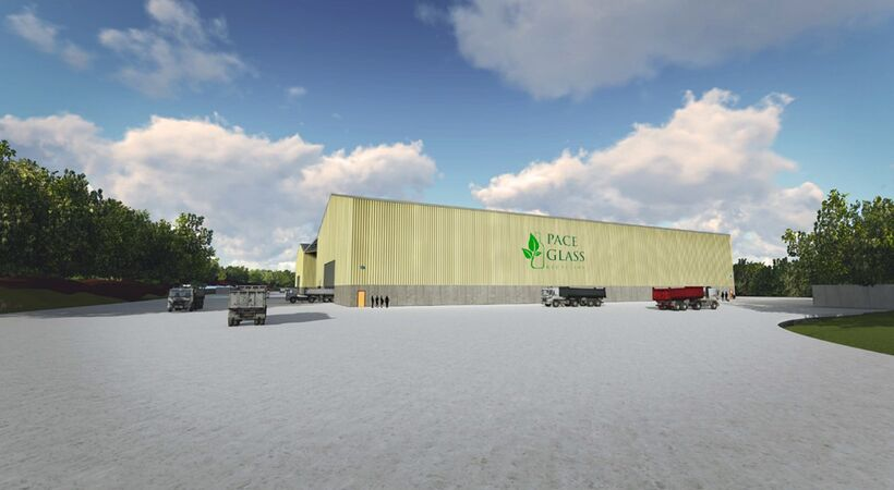 Pace Glass plans to build the world's largest glass recycling facility in New Jersey