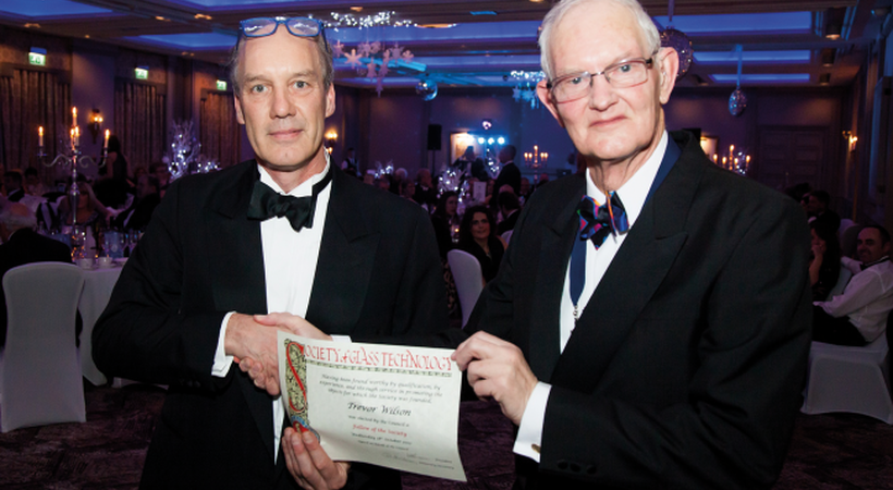 Society of Glass Technology honours Fellows at annual dinner