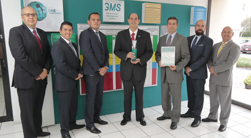 Gerresheimer Querétaro is best facility of the year