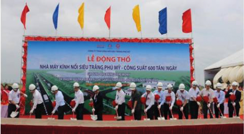 Work starts on Vietnam's first ultra-clear float glass factory