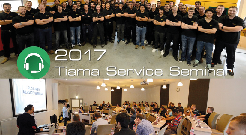 Tiama focuses on online service at its third seminar