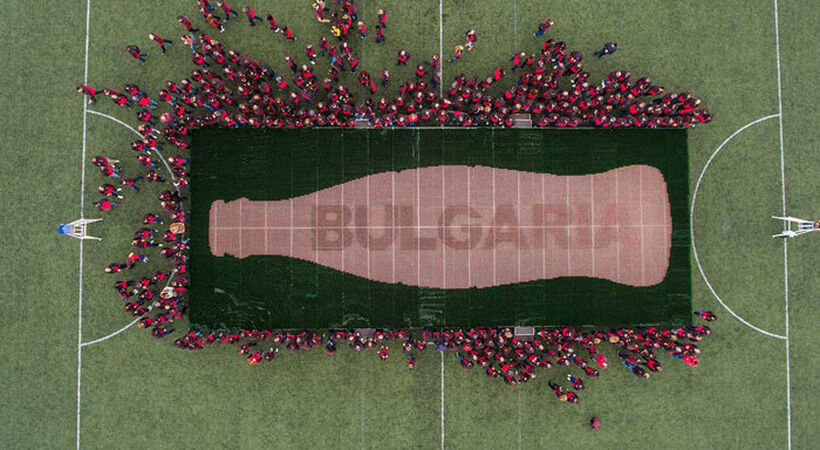 Coca-Cola Bulgaria breaks world record
