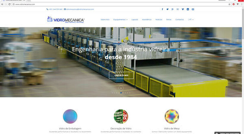 Vidromecanica has a new and improved online presence