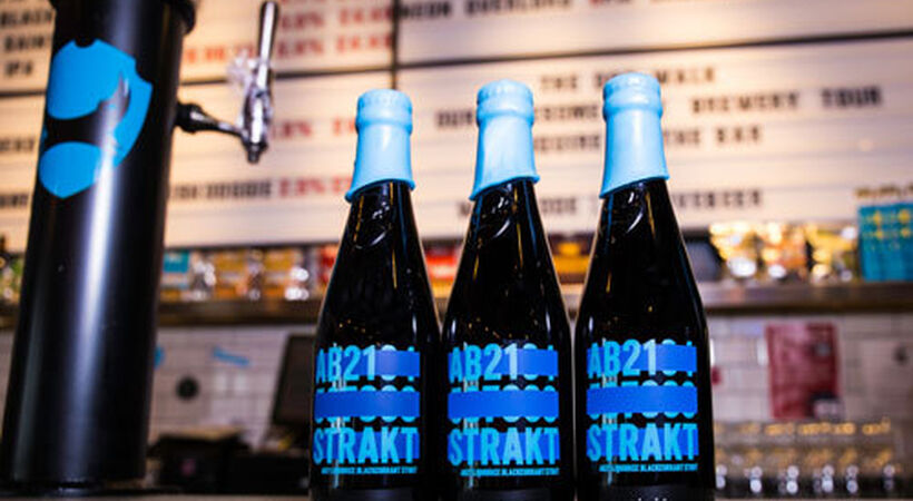 Beatson Clark bottle for BrewDog