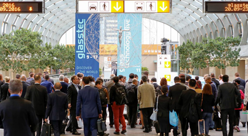 glasstec 2016 welcomes visitors from over 100 countries