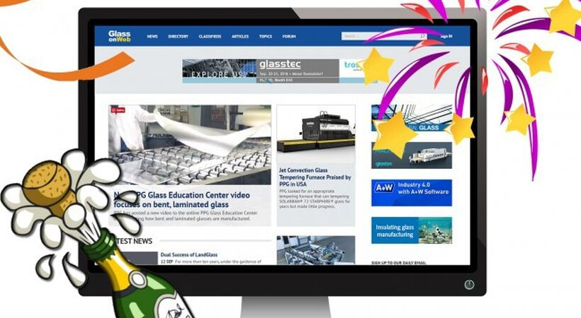 Glassonweb launches new website