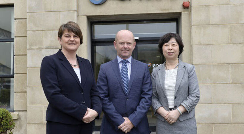 Northern Ireland's First Minister and Chinese Consul General visit Encirc Academy