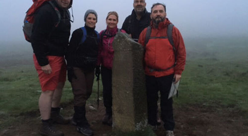 Sheppee staff raise £1700 for charity by completing moors walk