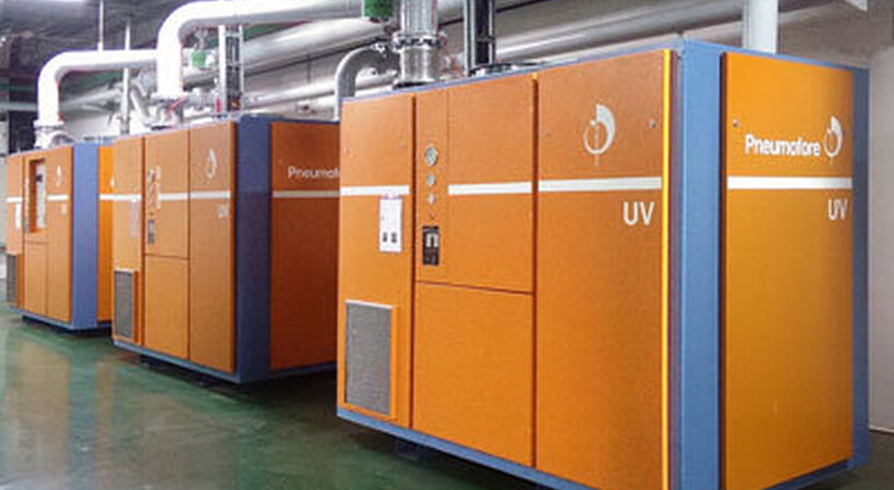 Pneumofore installs vacuum system at Siam Glass