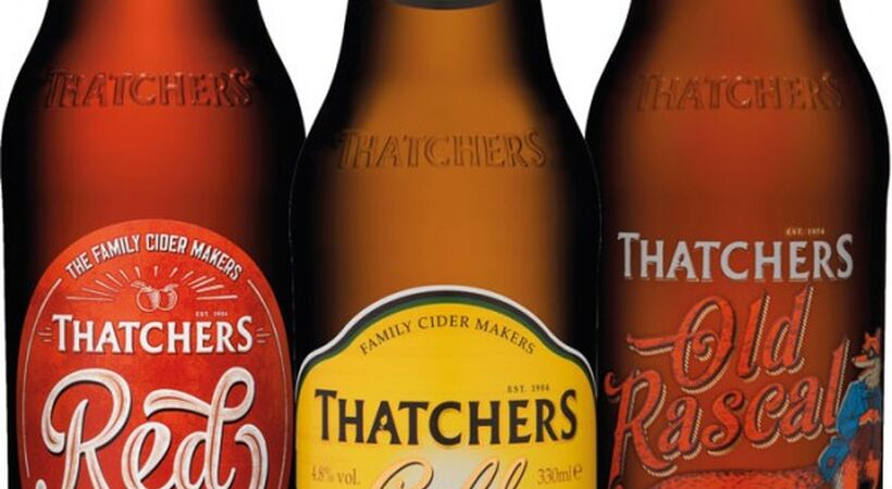 Ardagh fridge friendly bottles for Thatchers cider