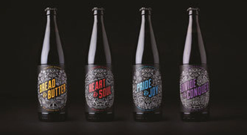 Beatson Clark produces eye-catching bottles for UK brewery