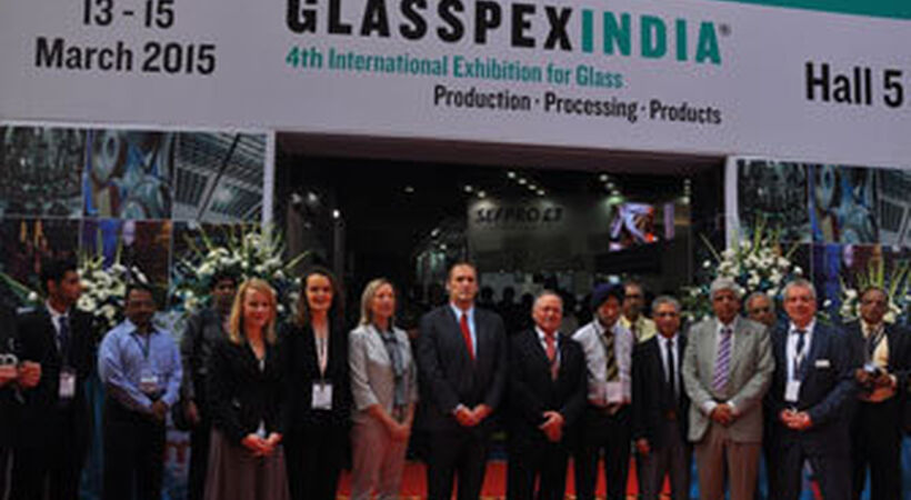 Italians report successful Glasspex India